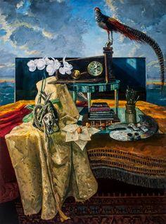 """Saatchi Art Artist Henk Pander; Painting, """"The Hours"""" #art"""