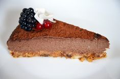 RAW5 Raw Chocolate, Cheesecake, Banana, Food, Cheese Cakes, Eten, Bananas, Fanny Pack, Cheesecakes