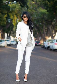 How to Wear White Jeans: 17 Stylish Outfit Ideas - Style Motivation