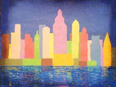Sunrise Over Philadelphia Art Photo Print by memorymetamorphosis, $25.00