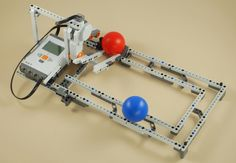 LEGO Mindstorms NXT Ball Roller Coaster