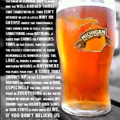 Michigan The Great Beer State
