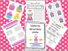 Classroom Freebies Too: {HUGE Valentine's Day Packet} :)