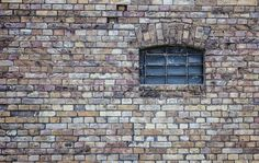 A free photo released with Creative Commons license on Magdeleine. Brick Wallpaper, Window Wall, Free Photos, Bald Eagle, Restoration, Street Art, Photoshop, Building, Creative