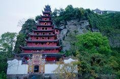 Shibaozhai Pagoda – Along the cruise on the Yangtze River