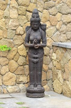 Dewi Balinese Garden, Garden Accessories, Ph, Garden Sculpture, Buddha, Garden Ideas, Statue, Outdoor Decor, Home Decor