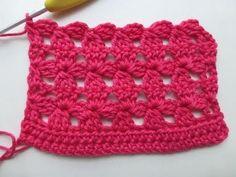"Crochet with eliZZZa * Crochet Stitch ""Flower Mesh""  ✿⊱╮Teresa Restegui http://www.pinterest.com/teretegui/✿⊱╮"