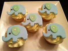 Elephant Baby Shower Treats