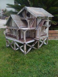 birdhouse palace - Google Search