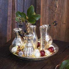 Tablett mit Vasen Blairville #loberon #christmas #Xmas #Weihnachten