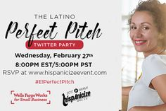 Hispanicize is approaching fast, we wants to let you in on a great opportunity! On Thursday, April 5th, Hispanicize will host The Latino Perfect Pitch Competition, a national small business pitch c…