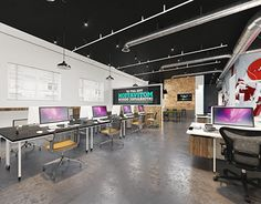 "Check out new work on my @Behance portfolio: ""audio studio office"" http://on.be.net/1LPiM1T"