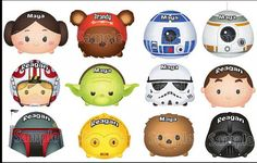 Mickey Mouse Star Wars Tsum Tsum Disney by KimsCreations1127