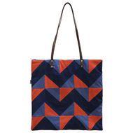 leftover fabric patchwork bag