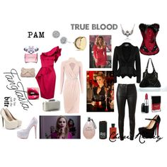 """TRUE BLOOD"" by blk-barbie on Polyvore"