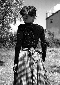Audrey Hepburn.