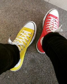 129fee0d5e8 Yellow   Red All Star Yellow Converse
