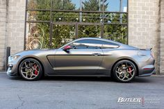 Ford Mustang with Vossen Wheels exclusively from Butler Tires and Wheels in Atlanta, GA - Image Number 10062 S550 Mustang, New Mustang, 2015 Mustang, Ford Mustang Shelby, Mustang Cars, Mustang Ecoboost, New Sports Cars, Super Sport Cars, Rolls Royce