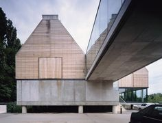 River and Rowing Museum Henley on Thames Inspired by the local boathouses and barns. David Chipperfield Architects