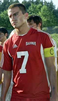 I'm sorry, but me and Channing Tatum have the same number...#7