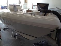Hyannis Marina's boat service department specializes in fiberglass boat service including major fiberglass boat repair, reconstruction and refinishing. We also specialize in fiberglass boat detailing and gel coat repair.