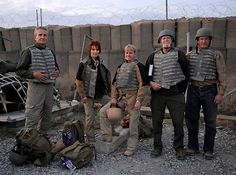 Clive Cussler, Sandra Brown, Kathy Reichs, Mark Bowden and Andrew Peterson on a USO tour to the Middle East in 2011 Kathy Reichs, Clive Cussler, Sandra Brown, Army Veteran, 40 Years Old, Military Life, Navy Seals, Middle East, Thriller