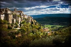 Even storms in Provence are gorgeous...come experience one with Bliss Travels!