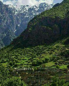Sarv-Abad in Kordestan, Iran