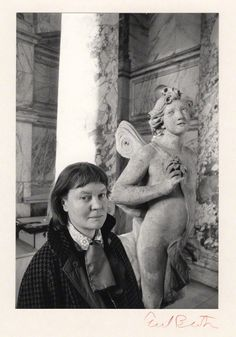 """Iris Murdoch (photo by Cecil Beaton): """"For most of us, for almost all of us, truth can be attained, if at all, only in silence. It is in silence that the human spirit touches the divine."""" (from 'Under the Net')"""