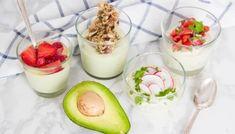 Αβοκάντο με Γιαούρτι – Avocado Yogurt - The Healthy Cook Yogurt, Wordpress, Fat Burning Detox Drinks, 1200 Calories, Bariatric Recipes, Vegetarian Cooking, Slow Cooker, Meal Planning, Panna Cotta
