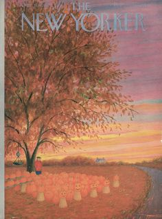 The New Yorker - Saturday, October 31, 1953 - Issue # 1498 - Vol. 29 - N° 37 - Cover by : Edna Eicke
