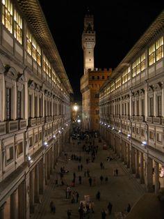 Florence, Italy -- Uffizi Gallery