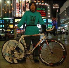 Itasha on a bike