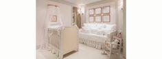Quarto de bebê menina romântico - Quartos Etc