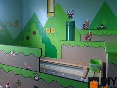Casa Nerd: Quarto infantil Super Mario   Nerd Da Hora