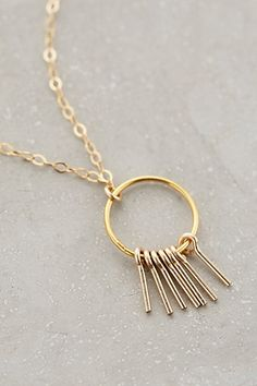 Magnetic Field Pendant Necklace - anthropologie.com