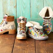 These are so cute!!!  Flats, pumps, combat boots, sneakers.  Goby Shoes at 55% off