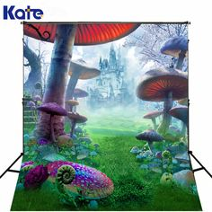 Find More Background Information about Kate Background Fundo Child Photography Background Castle Forest Poisonous Mushrooms Photography Scenic Backdrops J01684,High Quality backdrop support,China backdrop wallpaper Suppliers, Cheap backdrop light from Marry wang on Aliexpress.com