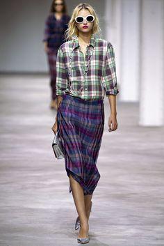 Dries Van Noten Spring 2013 Ready-to-Wear Fashion Show - Anabela Belikova (SILENT)
