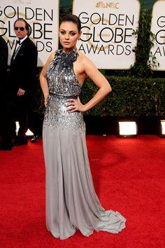 Golden Globes 2014 - Mila Kunis en un look de Emilio Pucci