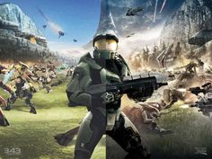 Want to know which video games are the very best to play right now? Check out our list of the best games for Xbox One, Wii U, PC, and more. Halo Game, Halo 3, Video Game Art, Video Games, Halo Funny, Halo Collection, Halo Reach, Best Games, Master Chief