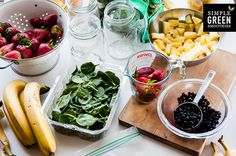 Like drinking smoothies, but hate the time it takes to make them fresh? Prep ahead of time. Great ideas for smoothie preparation.
