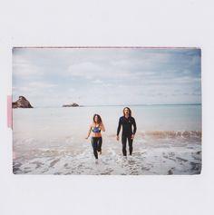 Alice & Simon CETUS BIARRITZ AMBASSADEUR secret spot / sea / couple / yamamoto neoprene / fun / run in the waves / sunny say / perfect day Biarritz, Yamamoto, Sunnies, Alice, Polaroid Film, Waves, Sea, Couples, Sunglasses