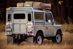 Looks like the kitchen's truck! 1971 Land Rover Series III Camper