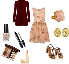 """""""Floral dress"""" by beccy-marie on Polyvore"""