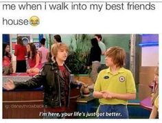 The Suite Life On Deck Season 2 Episode 11 Bermuda Triangle Bailey Pickett, Cody Martin & Zack Martin Funny Relatable Quotes, Funny Puns, Really Funny Memes, Stupid Funny Memes, Zack And Cody Funny, Zack Y Cody, Sprouse Bros, Cole Sprouse, Sweet Life On Deck