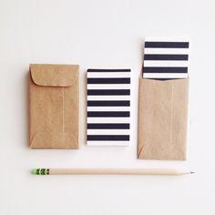 I Love Stripes Mini Flat Cards & Minilopes by stationeryboutique on Etsy https://www.etsy.com/listing/164033624/i-love-stripes-mini-flat-cards-minilopes