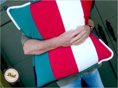 Fathers Day with Fabric.com: Jumbo Lounge Pillow in Soft Sweatshirt Knit | Sew4Home