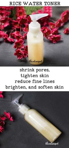 DIY RICE WATER TONER FOR BRIGHT AND SMOOTH SKIN