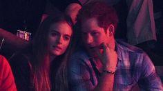 Prince Harry and girlfriend Cressida Bonas cosy up at We Day UK